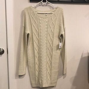 76c0f3cf24e Jack by BB Dakota Dresses - 💫NWT Jack by B.B. Dakota Cable Knit Sweater  Dress